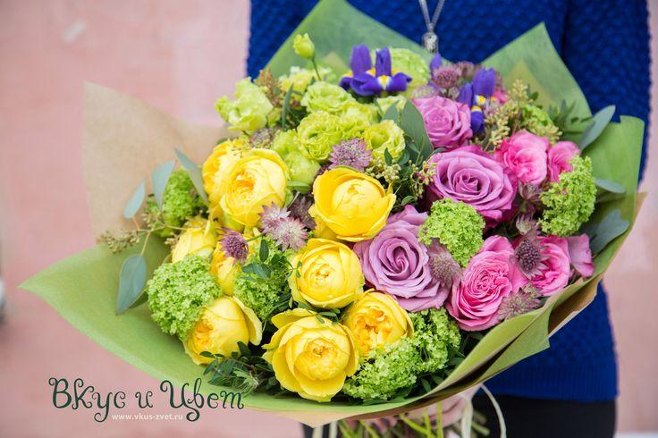 Вкус и Цвет | ЦВЕТОЧНАЯ МАСТЕРСКАЯ