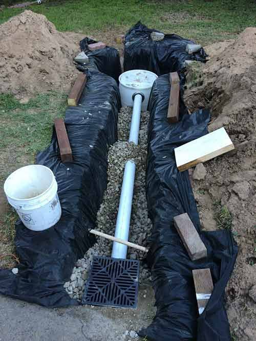 How To Build A French Drain With Dry Well Remodeling