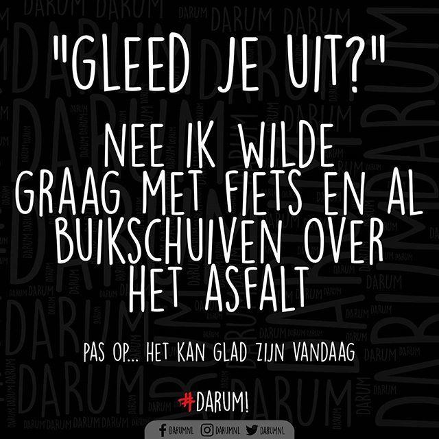 TAG IEMAND DIE GRAAG BUIKSCHUIFT MET DE FIETS #darum #buikschuiven #glad