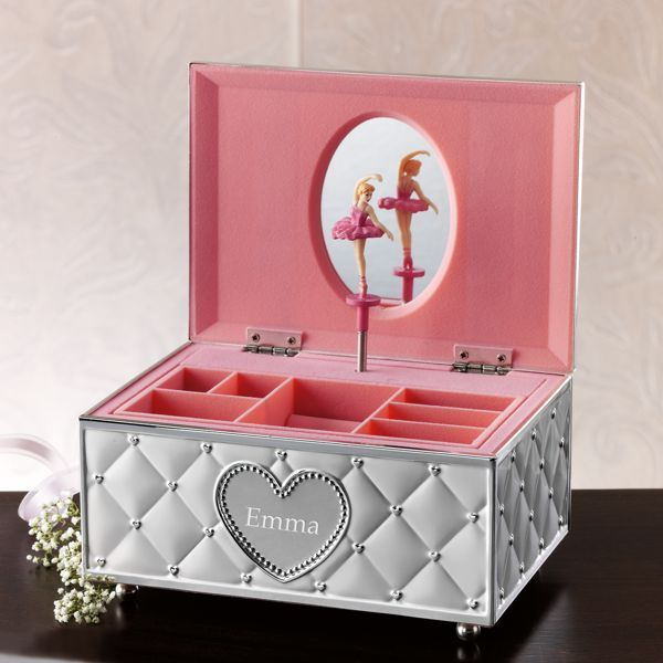Childhood Memories Ballerina Jewelry Box by Lenox