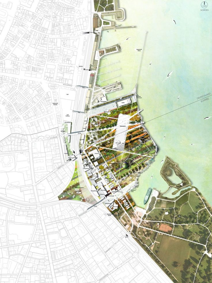 31 best Mapping images on Pinterest   Architecture diagrams     At the crossroads of two countries  Klein Vendig site Konstanz    Kreuzlingen is disconnected today and under exploited