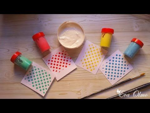Cómo elaborar el gesso casero, blanco y de colores - YouTube