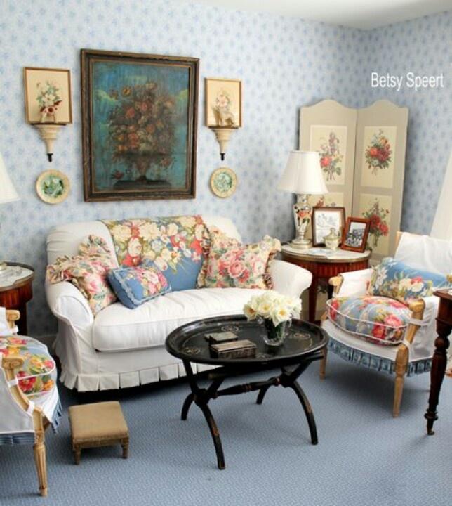 Really Sweet Cottage LivingCottage StyleLiving RoomCottage ChicCottage DecoratingDecorating IdeasDecor IdeasRoom IdeasEnglish Cottages