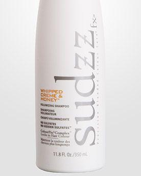 Sudzz FX Treatments Шампунь для объема тонких и ослабленных волос «Взбитые сливки и мед» Volumizing Shampoo for fine, weak hair. 350 мл.