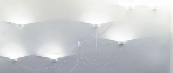 Zo Toi Wall- Lighting Design- White & double direction