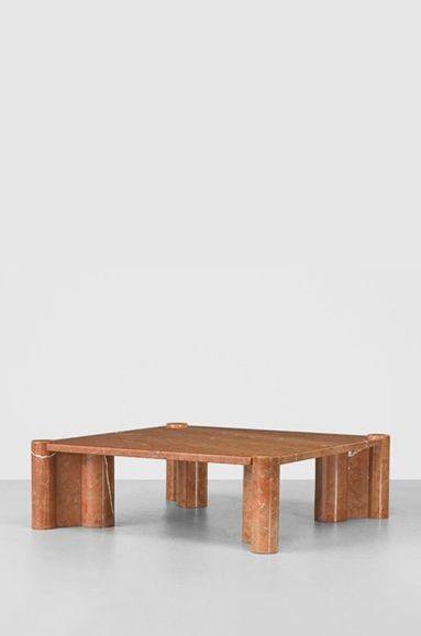 Gae Aulenti Marble Coffee Table