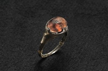 Viking silver ring / Uppland