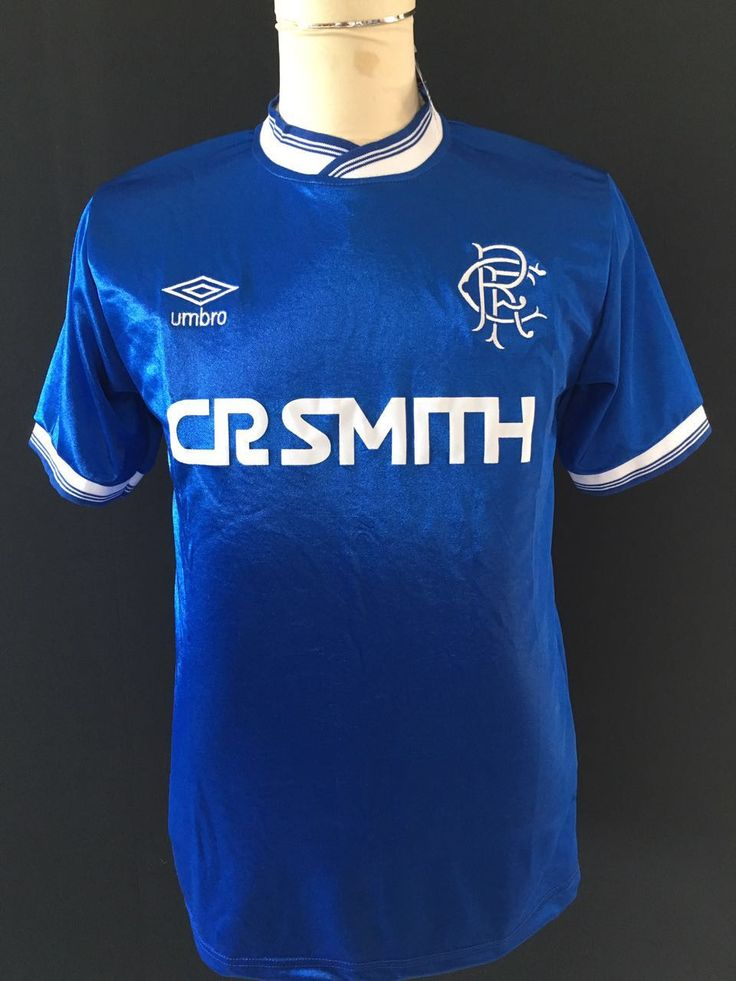 1985-87 Glasgow Rangers Home Shirt