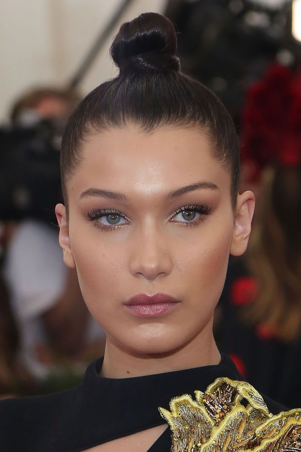 Bella Hadid at the 2015 Met Gala. http://beautyeditor.ca/2015/10/09/bella-hadid-before-and-after