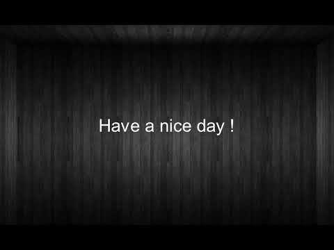 Como se dice Que Tengas Un Buen Dia en Ingles