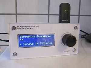 Raspberry Web Radio