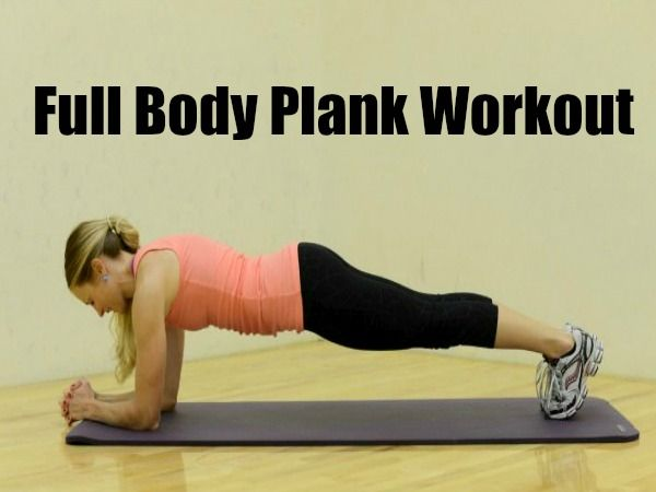 Full Body Plank Workout | Full body, Home and Sweet