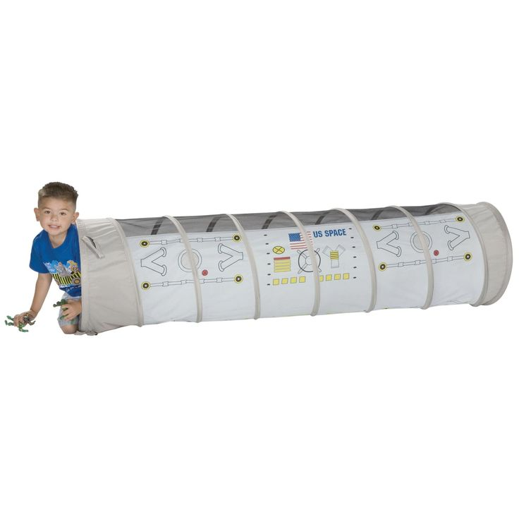 Pacific Play Tents Docking Port 6-Foot Nylon Play Tunnel - 20250