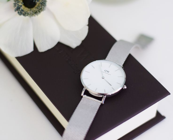 Daniel Wellington Classic Petite Watch - Stirling and White and a Discount Code