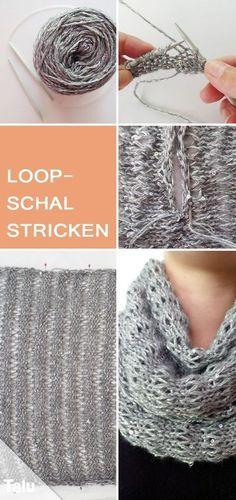 Kostenlose Anleitung - Loop-Schal stricken - Talu.de
