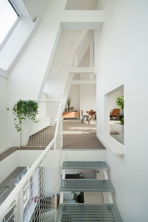 Apartment in Amsterdam is a minimalist house located in Amsterdam, The Netherlands, designed by MAMM. This is a renovation project of a dupl...