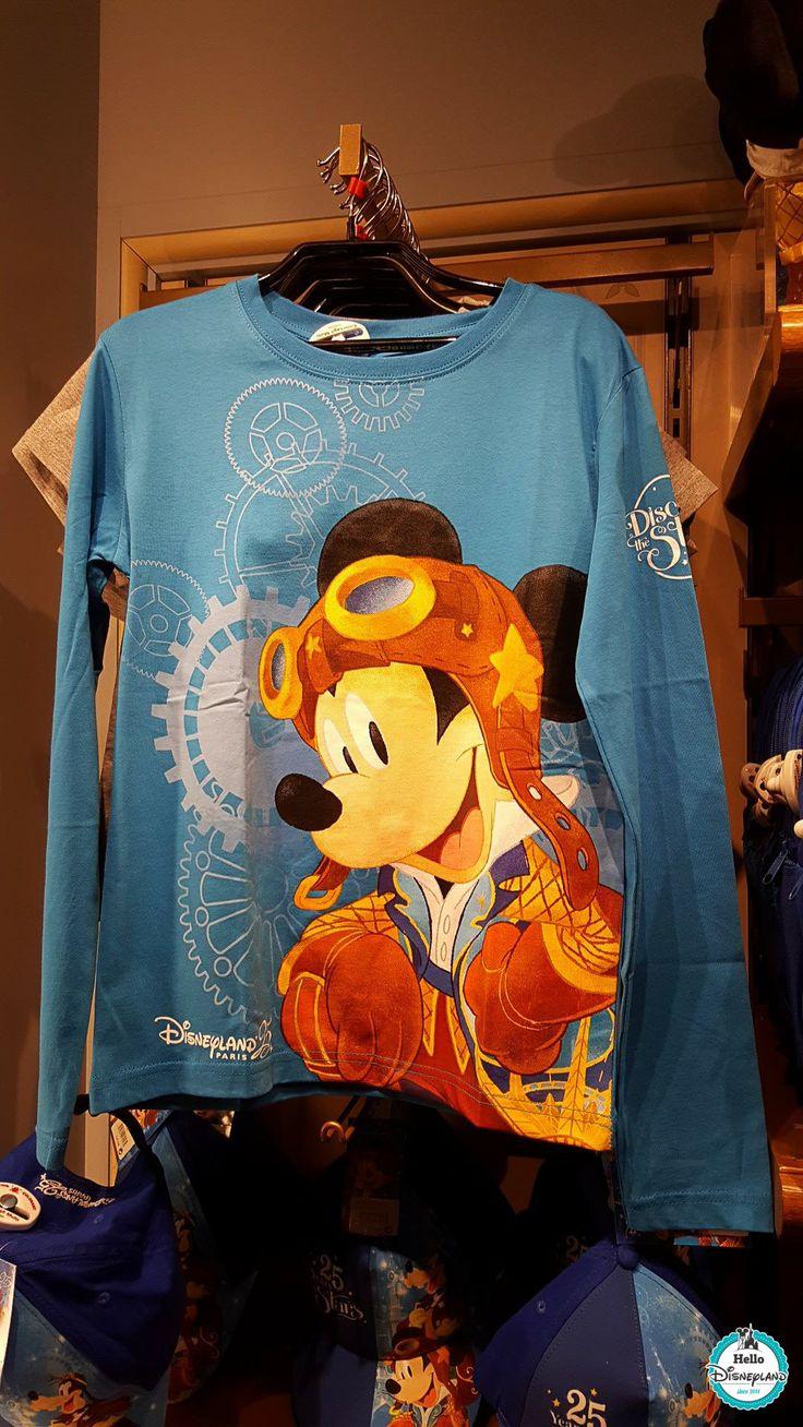 Le merchandising des 25 ans est arrivé ! | Hello Disneyland : Le blog n°1 sur Disneyland Paris