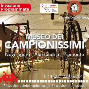 Invasioni digitali: Il museo dei campionissimi e i tesori dell'arte sacra 3 maggio 2015 ore 11 #invasionedeicampionissimi #invasioninelnovese #invasionidigitali