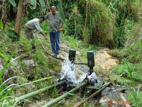 (2) Bombas de Ariete, una solución para los problemas de Agua en las fincas - TvAgro por Juan G. Angel - YouTube