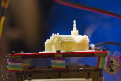 Wilcox vs 3D Printer at Hacked Lab