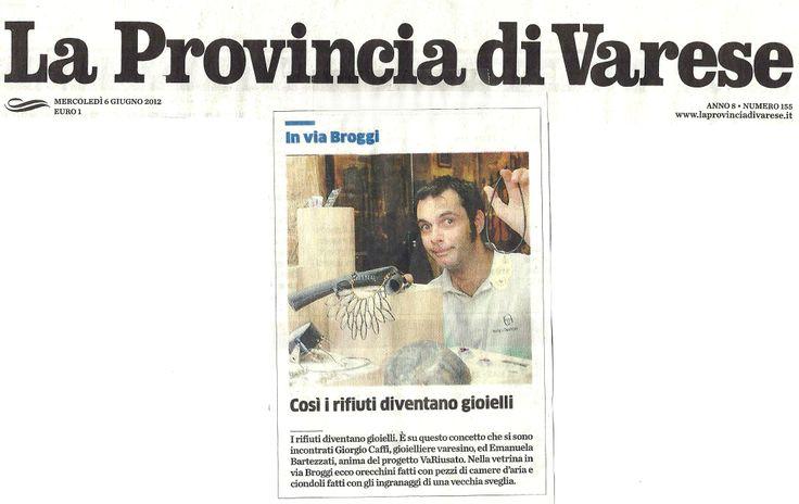 La Provincia - Articolo Anno 2012