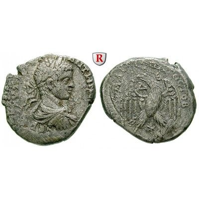 Römische Provinzialprägungen, Seleukis und Pieria, Antiocheia am Orontes, Elagabal, Tetradrachme 219 n.Chr., ss+: Seleukis und… #coins