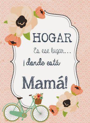 So Hip Fiestas: Tarjetas para imprimir: Mamá eres la dulzura en mi vida