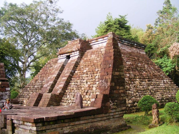It's not in Egypt, nor Peru. It's Sukuh, a thousands year old temple in Central Java, Indonesia