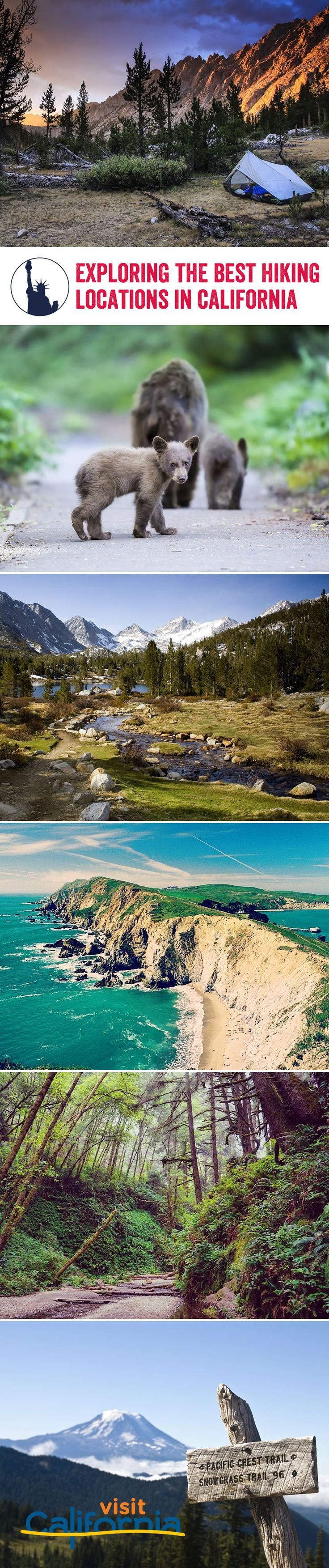 Grab your walking boots, California is full of incredible hiking trails filled with natural beauty, and a deep sense of adventure