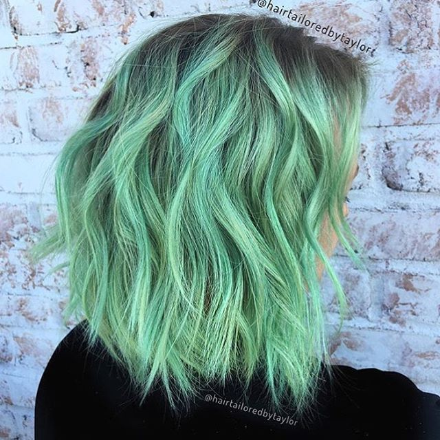 best 25 green hair colors ideas on pinterest turquoise