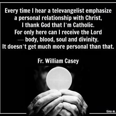 """Body, blood, soul, and divinity-- the Eucharist is as intimate as a """"personal…"""