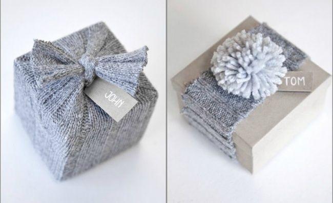 Идеи для упаковки подарка
