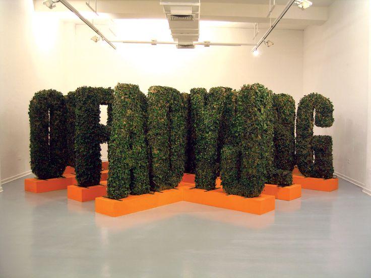 Paz Carvajal | Wonderland, Laberinto vegetal / vegetable labyrinth, 2004