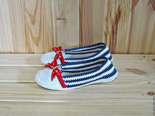 tricotate pantofi.  Pantofi de vara.  Pantofi pentru femei.  tricotate pantofi.  Balerine cârlig.  Papuci de casă Maestru.