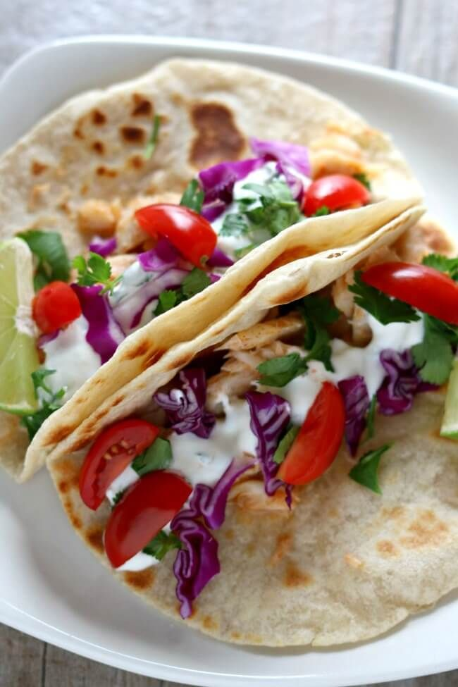 Alaska Cod Fish Tacos With Garlic Lime Sour Cream Slow Cooker Instant Pot Or Oven 365 Days Of Slow Cooking And Pressure Cooking Recipe Cod Fish Tacos How To