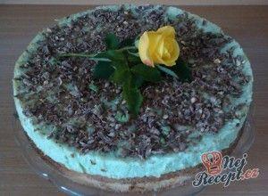 Pistáciový dort