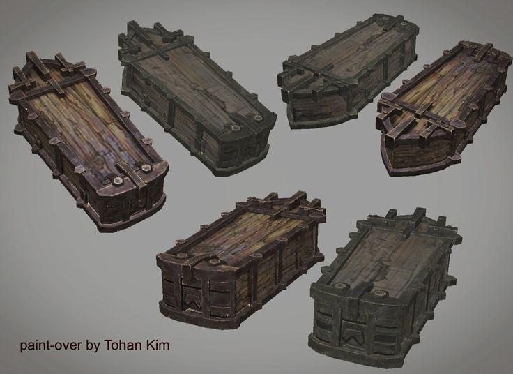 ArtStation - The Texture Paint-Over, Tohan Kim