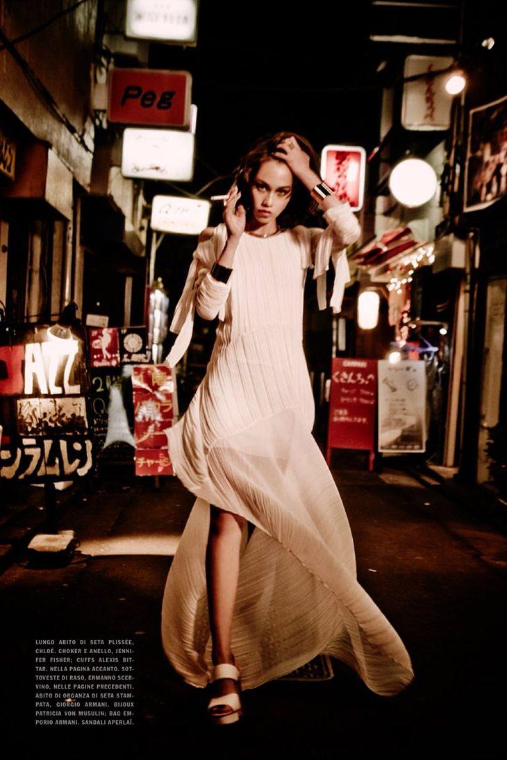 Vogue Italia, January 2014 (+) photographer: Ellen Von Unwerth Kiko Mizuhara