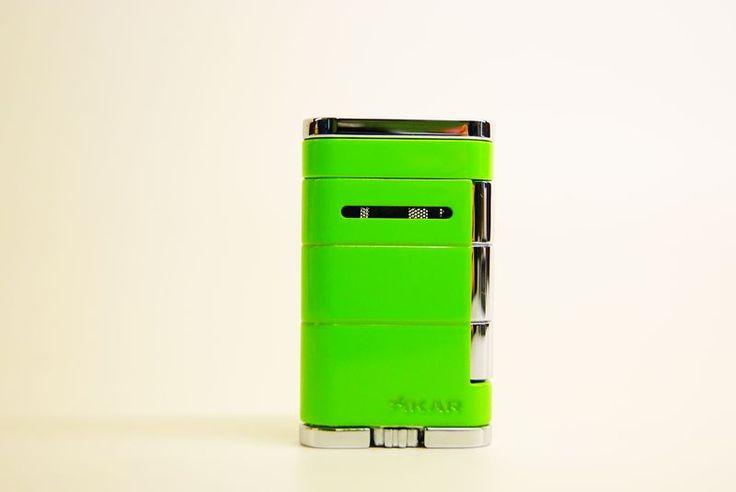 Accendini Jet Flame : Accendino jet flame xikar the Allume verde - Tabaccheria Sansone - Pipe Tabacco Sigari - Accessori per fumatori