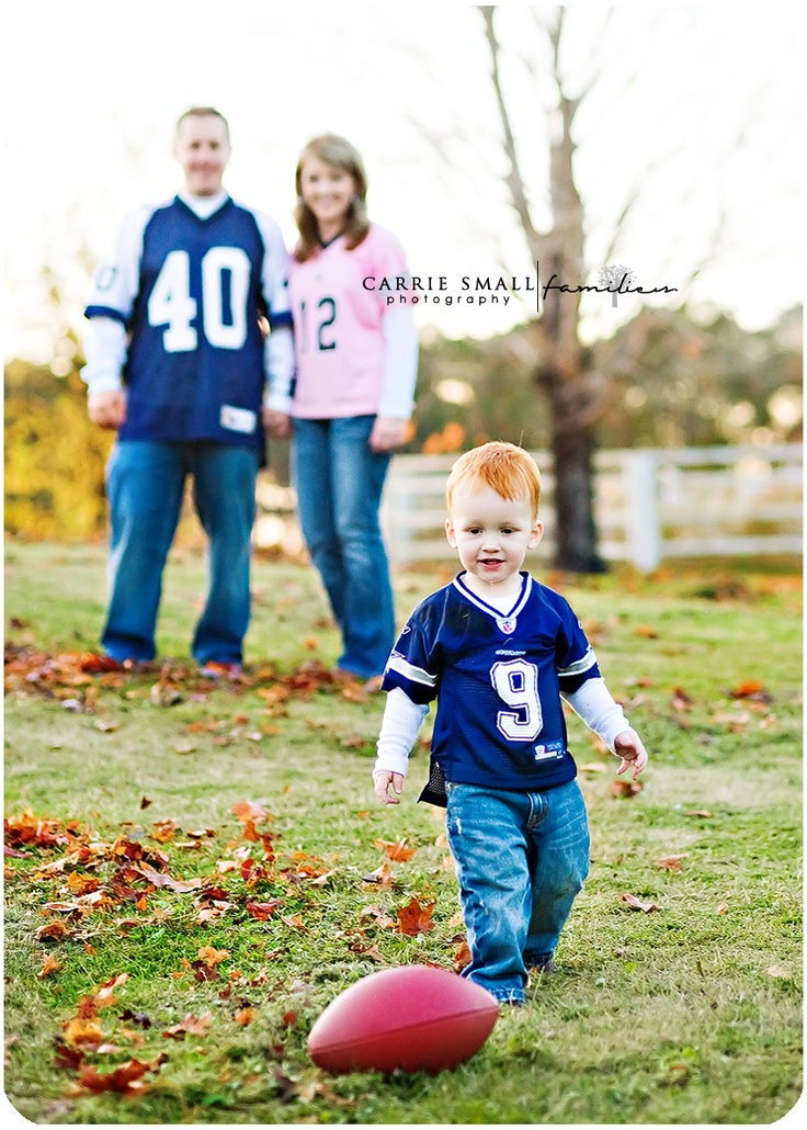 Future Football Star, J | Fayetteville Stedman Childrens & Family Photographer » Carrie Small Photography