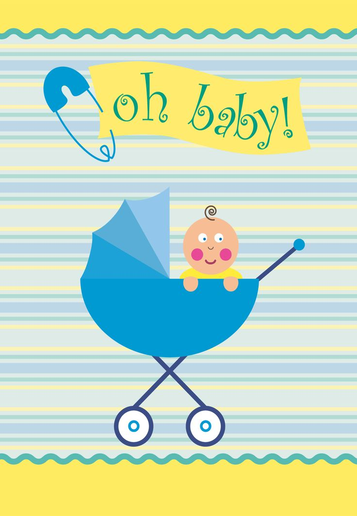Tactueux image within free printable baby shower card