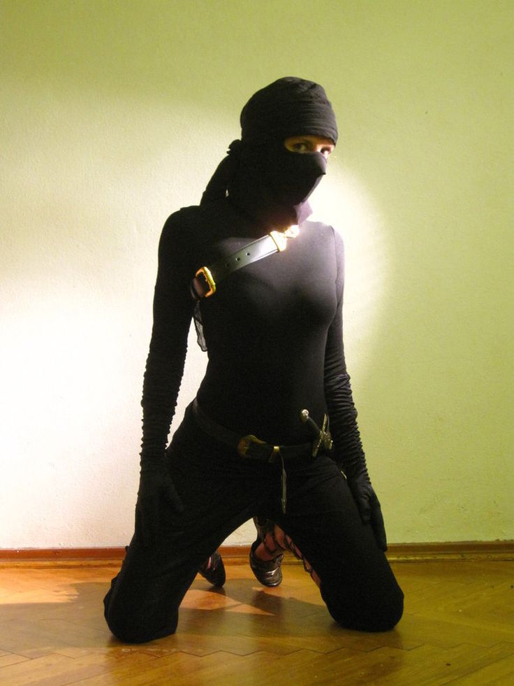 Female Ninja Girl | female Ninja by Haparanda