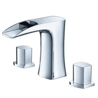 Shop for Fresca Fortore Widespread Mount Bathroom Vanity Faucet Chrome. Get free shipping at Overstock.com - Your Online Home Improvement Outlet Store! Get 5% in rewards with Club O!