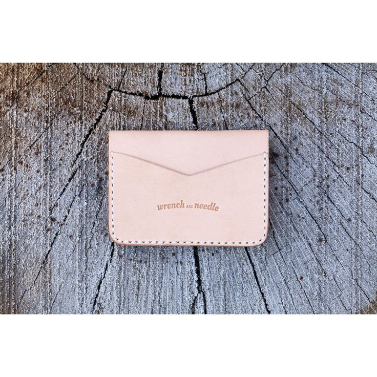 hermann oak cardholder