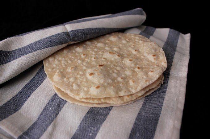 Tortillas trigo wraps, tortillas de trigo caseras