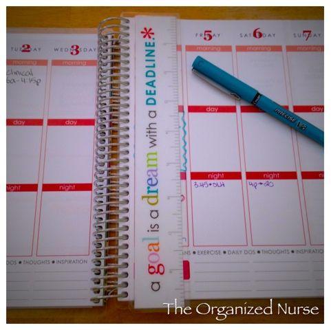 The Organized Nurse: {2013-2014} Erin Condren Life Planner