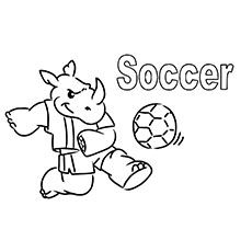 Soccer Ball Coloring Page