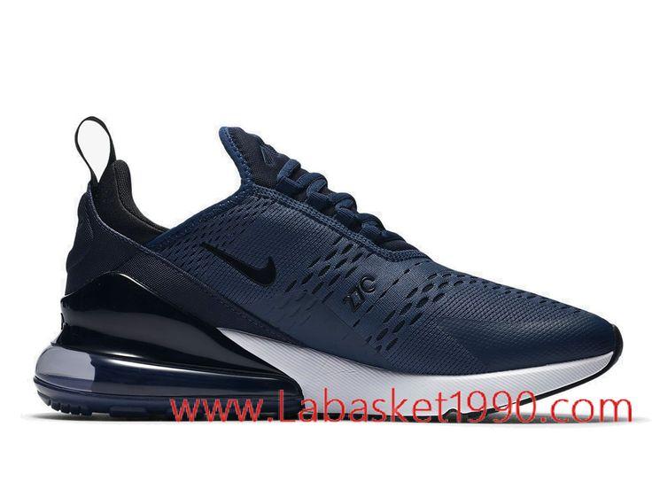 Nike Air Max 270 Navy AH8050-400 Chaussures Nike 2018 Pas Cher Pour Homme  Bleu Blanc-Achetez en ligne les articles signés Nike. Choisissez le  basketball ...