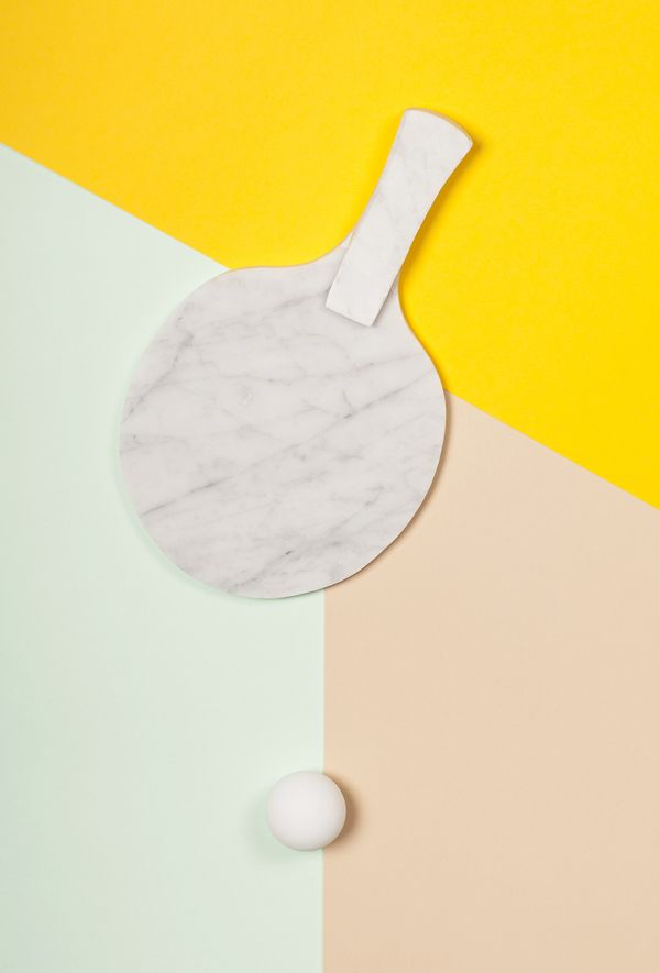 Ping Pong by Sofie Platou, via Behance