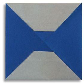 Origami alphabet(H)